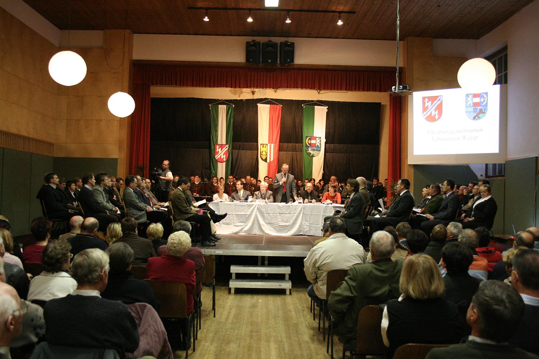 Feier zur Gemeindevereinigung im Herbst 2007ndevereinigung